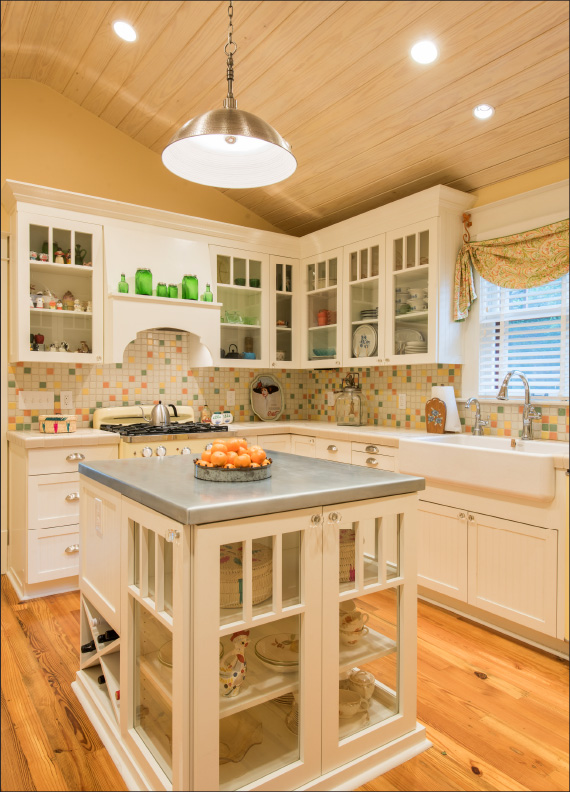 King William San Antonio | Kitchen Addition | Custom Kitchen Cabinets | Interior Design Decor | Betsy Homan Design